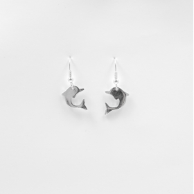 Sea Stories Dolphin Earrings