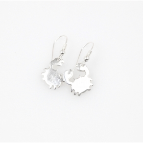 Sea Stories Crab Earrings