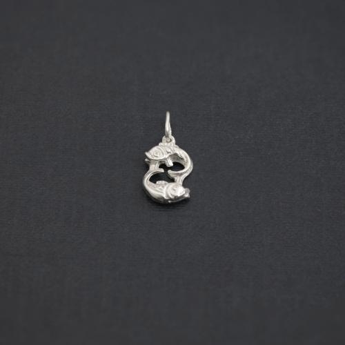 Zodiac sign necklace - PISCES
