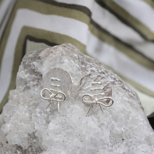 VAGABONDS Earrings with bow